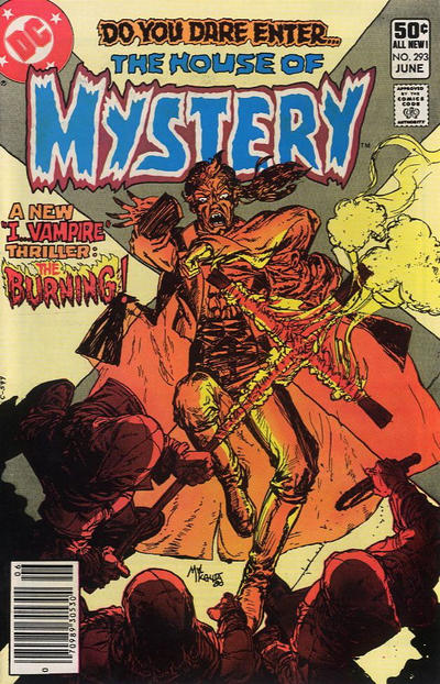 Cover for House of Mystery (1951 series) #293