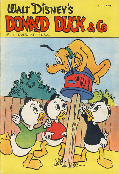Cover for Donald Duck & Co (Hjemmet, 1948 series) #14/1961