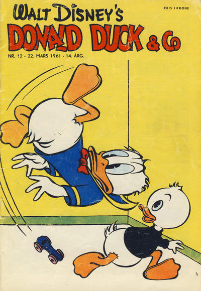 Cover for Donald Duck & Co (Hjemmet, 1948 series) #12/1961