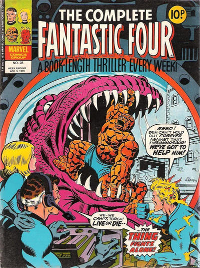 Cover for The Complete Fantastic Four (1977 series) #28