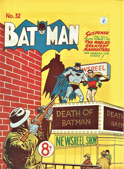 Cover for Batman (K. G. Murray, 1950 series) #32