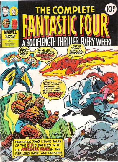 Cover for The Complete Fantastic Four (Marvel UK, 1977 series) #6