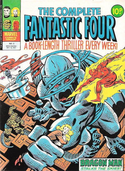 Cover for The Complete Fantastic Four (Marvel UK, 1977 series) #3