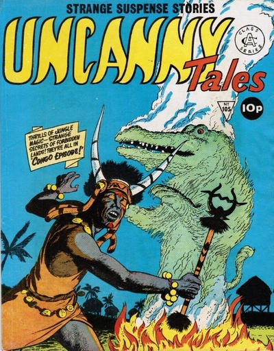 Cover for Uncanny Tales (Alan Class, 1963 series) #105