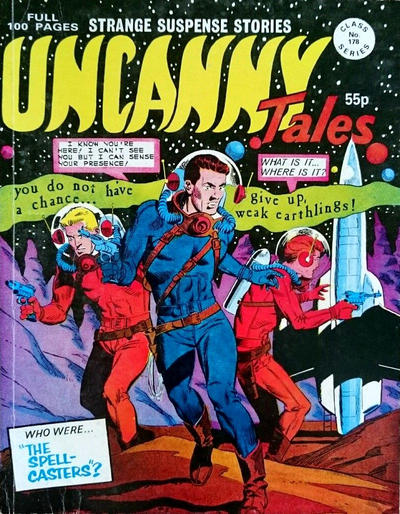 Cover for Uncanny Tales (Alan Class, 1963 series) #178