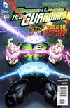 Cover for Green Lantern: New Guardians (DC, 2011 series) #12