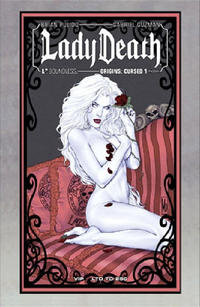 Cover Thumbnail for Lady Death Origins: Cursed (Avatar Press, 2012 series) #1 [Phoenix Comic-con VIP variant]