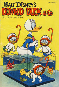Cover Thumbnail for Donald Duck & Co (Hjemmet / Egmont, 1948 series) #19/1960