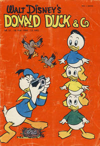 Cover Thumbnail for Donald Duck & Co (Hjemmet, 1948 series) #21/1960