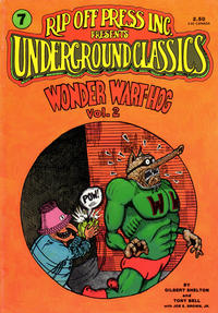 Cover Thumbnail for Underground Classics (Rip Off Press, 1985 series) #7