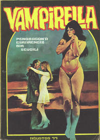 Cover Thumbnail for Vampirella (Mehmet K. Benli, 1976 series) #[26]