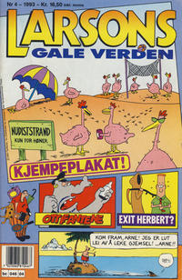 Cover Thumbnail for Larsons gale verden (Bladkompaniet, 1992 series) #4/1993