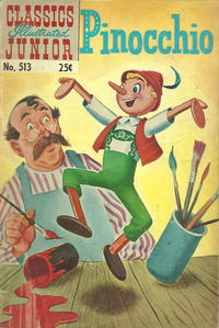 Cover Thumbnail for Classics Illustrated Junior (Gilberton, 1953 series) #513 [25 cent reprint]