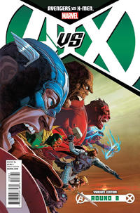 Cover for Avengers vs. X-Men (Marvel, 2012 series) #8