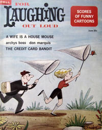 Cover Thumbnail for For Laughing Out Loud (Dell, 1956 series) #27