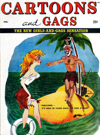 Cover Thumbnail for Cartoons and Gags (Marvel, 1958 series) #v5#1