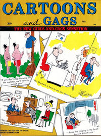 Cover Thumbnail for Cartoons and Gags (Marvel, 1959 series) #v10#1
