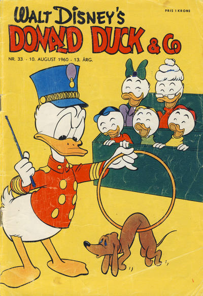 Cover for Donald Duck & Co (Hjemmet, 1948 series) #33/1960