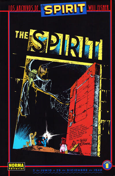 Cover for Los Archivos de The Spirit (NORMA Editorial, 2003 series) #1