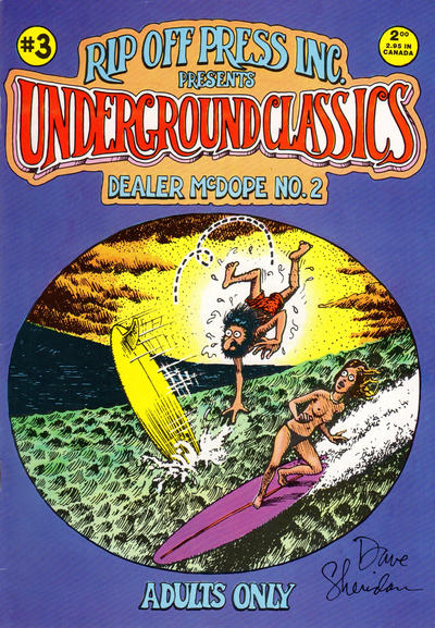 Cover for Underground Classics (Rip Off Press, 1985 series) #3