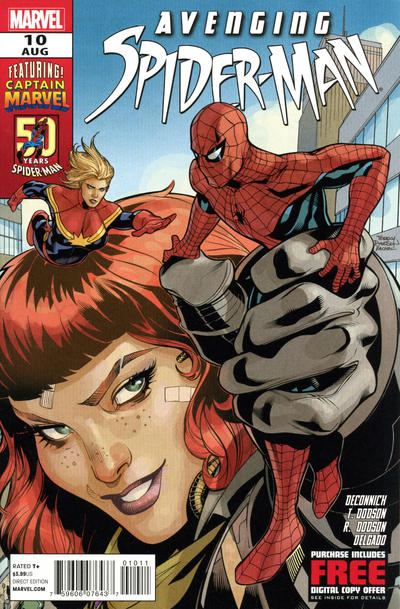 Cover for Avenging Spider-Man (Marvel, 2012 series) #10