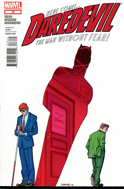 Cover for Daredevil (Marvel, 2011 series) #16