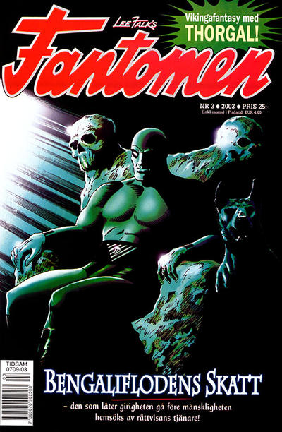 Cover for Fantomen (Egmont, 1997 series) #3/2003
