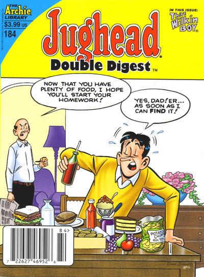 Cover for Jughead's Double Digest (Archie, 1989 series) #184 [Direct]