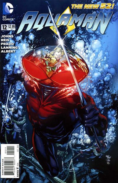 Cover for Aquaman (2011 series) #12