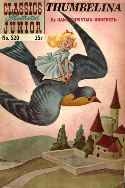 Cover for Classics Illustrated Junior (1953 series) #520 - Thumbelina
