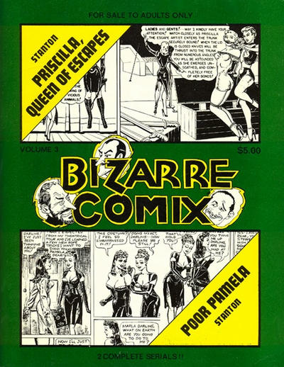 Cover for Bizarre Comix (1975 series) #3