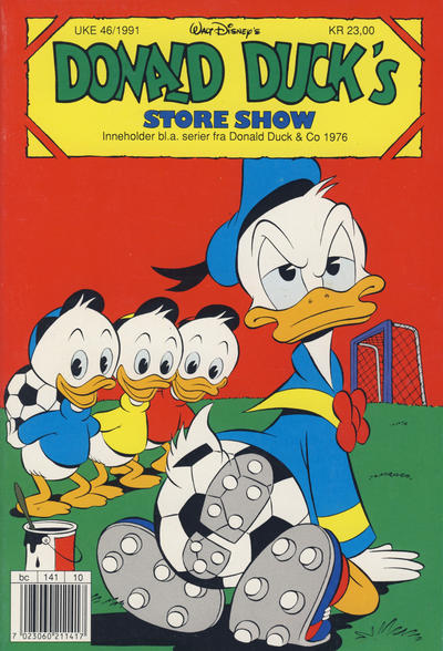 Cover for Donald Duck's Show (1957 series) #store show 1991