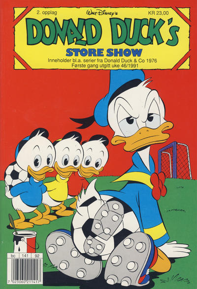 Cover for Donald Duck's Show (1957 series) #store show [1991] [Reutsendelse (2. opplag)]
