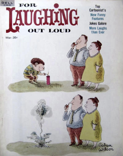 Cover for For Laughing Out Loud (Dell, 1956 series) #26
