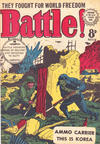 Cover for Battle! (Horwitz, 1954 ? series) #13