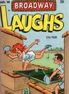 Cover for Broadway Laughs (Prize, 1950 series) #v9#7