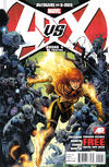 Cover Thumbnail for Avengers Vs. X-Men (2012 series) #4 [2nd Printing Cover by Jim Cheung]