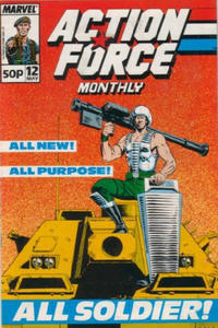Cover Thumbnail for Action Force Monthly (Marvel UK, 1988 series) #12