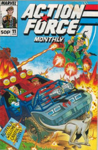 Cover Thumbnail for Action Force Monthly (Marvel UK, 1988 series) #11