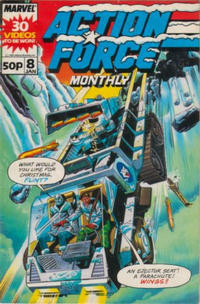 Cover Thumbnail for Action Force Monthly (Marvel UK, 1988 series) #8