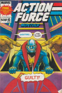 Cover for Action Force Monthly (Marvel UK, 1988 series) #6