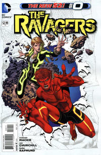 Cover Thumbnail for The Ravagers (DC, 2012 series) #0