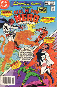 Cover Thumbnail for Adventure Comics (DC, 1938 series) #487 [Newsstand]