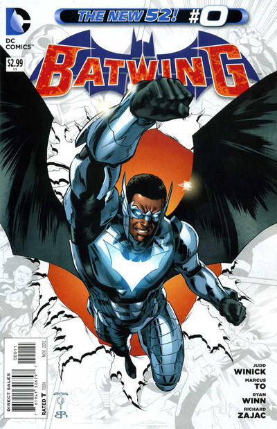 Cover for Batwing (DC, 2011 series) #0
