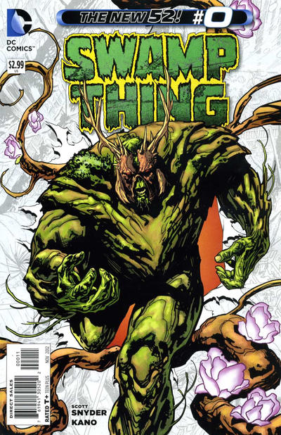 Cover for Swamp Thing (DC, 2011 series) #0