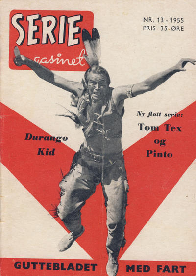 Cover for Seriemagasinet (1955 series) #13/1955