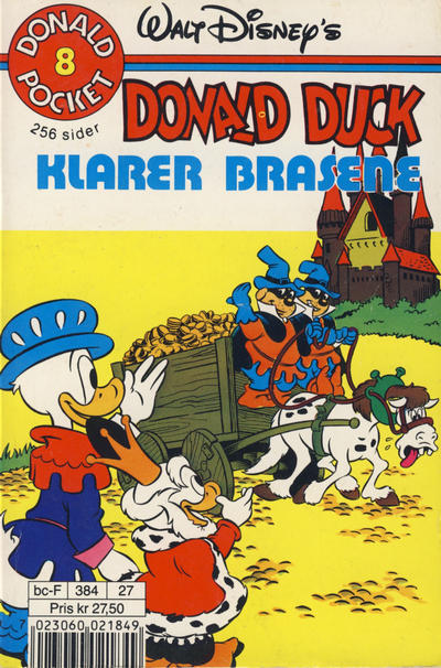 Cover for Donald Pocket (Hjemmet, 1968 series) #8 [3. opplag]