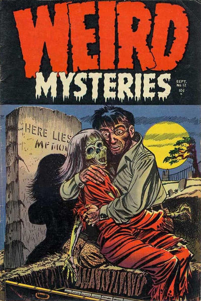 Cover for Weird Mysteries (Stanley Morse, 1952 series) #12