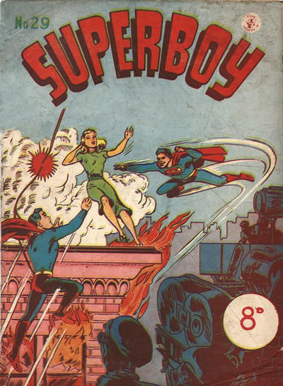 Cover for Superboy (1949 series) #29