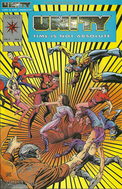 Cover for Unity (Acclaim / Valiant, 1992 series) #1 [Platinum Edition]